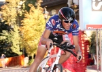 Gage Hecht finishes Tour of Vail timetrial