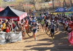 The 5280 run-up crowd was wild at BoulderCup