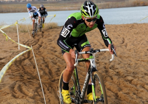 Jamey Driscoll aced the sand at the 2012 Colorado Cross Classic