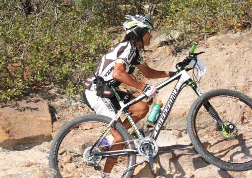 Even Tinker Juarez walks his bike sometimes