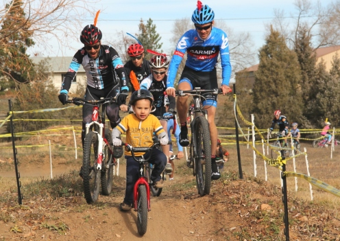 Sometimes we all need a big cheering section to get over a hill
