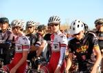 Cat 3 start, Boulder 'Cross Series race 4, Liam Dunn (centerright)