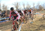 Josh Whitney and group, Boulder Cyclocross Series race4