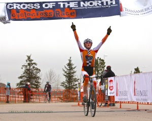 Gage Hecht, 2012 Junior men 15-16 Colorado State Cyclocross Champion