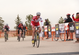 Maxx Chance wins the 2012 Junior 17-18 Colorado State Cyclocross Championships
