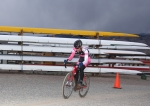 Spencer Powlison on the east end of the Boulder Cyclocross Series race 5course