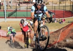 Mitch Westall with Kappius and Iaia on steeprun-up