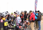 Front row support, women's open race line-up for 2012 Colorado State CyclocrossChampionships