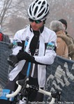 Baird at start of men's junior 15-16 race, he finishedtwelth