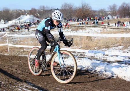 "When asked what her thoughts were as she crossed the line, Compton said, ""Thank God I don't have another lap."" She said the 2012 'Cross Nationals course was among the hardest of the season."