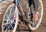 Katie Compton's bike in lap2
