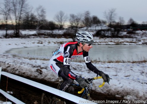 Ken Benesh, last lap before arriving 4th in masters 30-34 race at 2013 'cross nationals