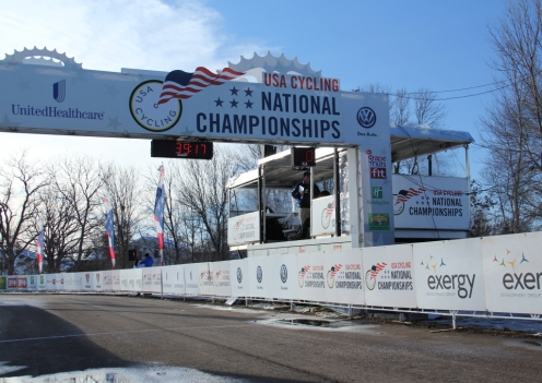 finish line truss at Nationals
