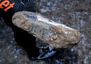 frozen cleat at 2013 'cross nationals