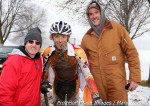 Jerry Cutright, Gage Hecht, Bruce Hecht (l-r) after Gage's 15-16 'cross nationalswin