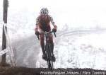 Gage Hecht in the mist at 2013 cyclocrossnationals