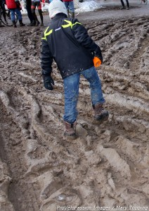 How non-racing juniors played during the 2013 cyclocross nationals on Saturday