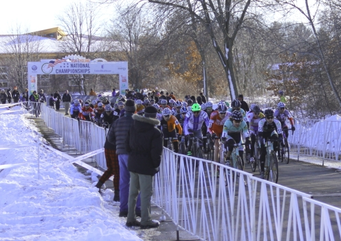 2012 Cyclo-cross Nationals men's single speed start