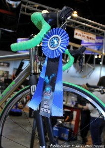 Eriksen road bike, Best Titanium Construction prize-winner at 2013 NAHBS