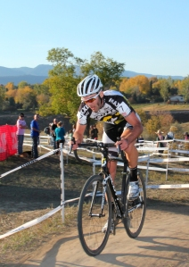 Geoff Kabush at the Smartwool Cup USGP cyclocross event in Fort Collins, Colorado