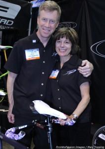 Paketa's Dave Walker and Terry Malouf at the 2013 NAHBS