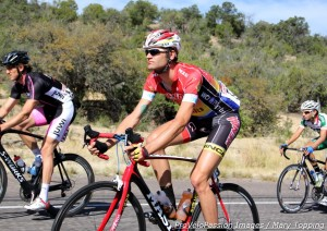 Phil Gaimon on the last day of the 2012 Tour of the Gila