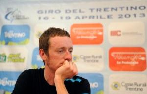 Brad Wiggins. Photo by Daniele Mosna, courtesy of the Giro del Trentino
