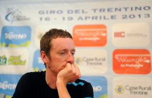 Brad Wiggins. Photo by Daniele Mosna, courtesy of the Giro del Trentino