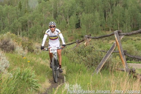 Fernando Riveros won the 2012 Rocky Mountain Endurance Series Breckenridge 68 mile race