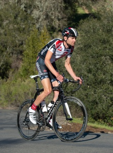 Phil Gaimon during BISSELL Pro Cycling Team training camp. Photo courtesy of BISSELL, by Casey B. Gibson