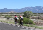 Stage 1 breakaway nearing Mogollon at Tour of the Gila