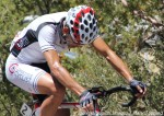 Cesar Grajales (Competitive Cyclist) at top of Mongollon, 2012 Tour of the Gila