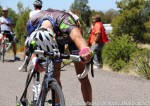 Matt Cooke (Team Exergy) recovering after Stage 1 mountain-top Gila finish