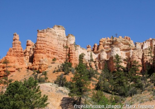 View of north end of Bryce Canyon National Park from Route 12 near Ruby's Inn