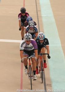 Amanda Cyr leads women's field at Friday night Colorado Track Cup in Colorado Springs