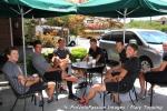 BMC boys at Starbucks before racing the Salt Lake Citycircuit