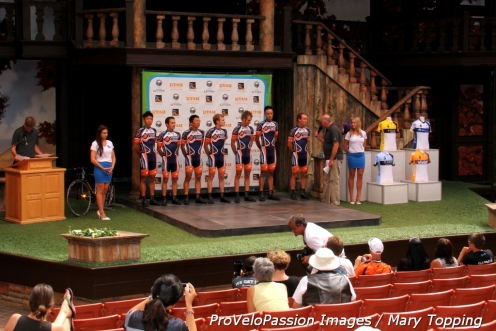 Champion System and the 2013 Tour of Utah team presentation venue