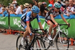 Danielson and Horner after the finishline