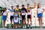 Tour of Utah Stage 3 jerseyholders