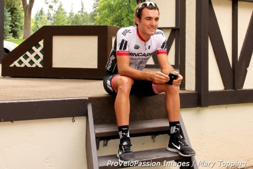 Joey Rosskopf on Hincapie Sportswear Devo team just won a Cascade stage. The team of allrounders will be stage hunting.