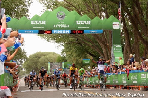 Michael Matthews wins Stage 2, 2013 Tour of Utah