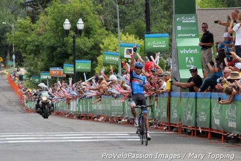 Lachlan Morton (Garmin-Sharp) wins Stage 3 Tour of Utah in Payson
