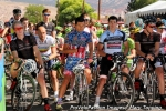 The national anthem plays before Stage 3start
