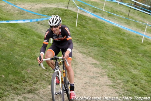 Chris Case never seemed under pressure at Cyclo-X Flatirons
