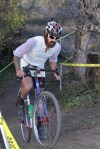 Nic Handy placed fifth riding singlespeed