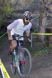 Nic Handy placed fifth riding single speed