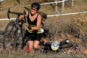 "On the ""run-up from hell"" in the women's cat 3 race"