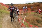 Tim Allen in the lead after the first messyturns