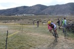 Kate Powlison chasing in the finallap