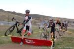 First barriers first lap DannySummerhill